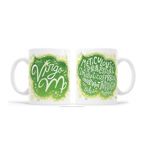 Kathy Weller Art+Ideas - Virgo Zodiac Astrology Mug