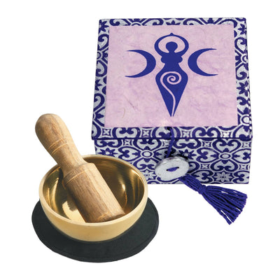 "2"" Spiral Goddess Meditation Bowl Box"