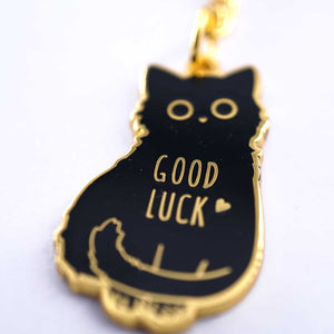 Compoco - Good Luck Cat Keychain