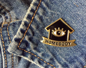 Wit & Whistle - Homebody Enamel Pin