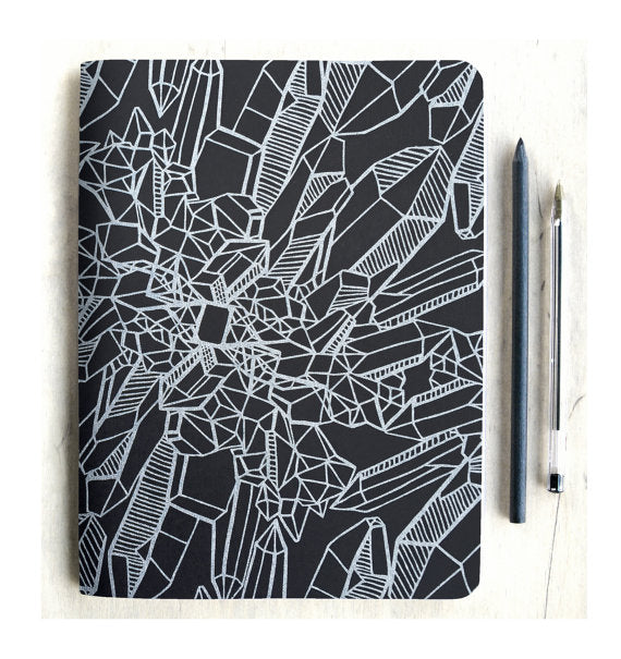 Silver Crystal Journal