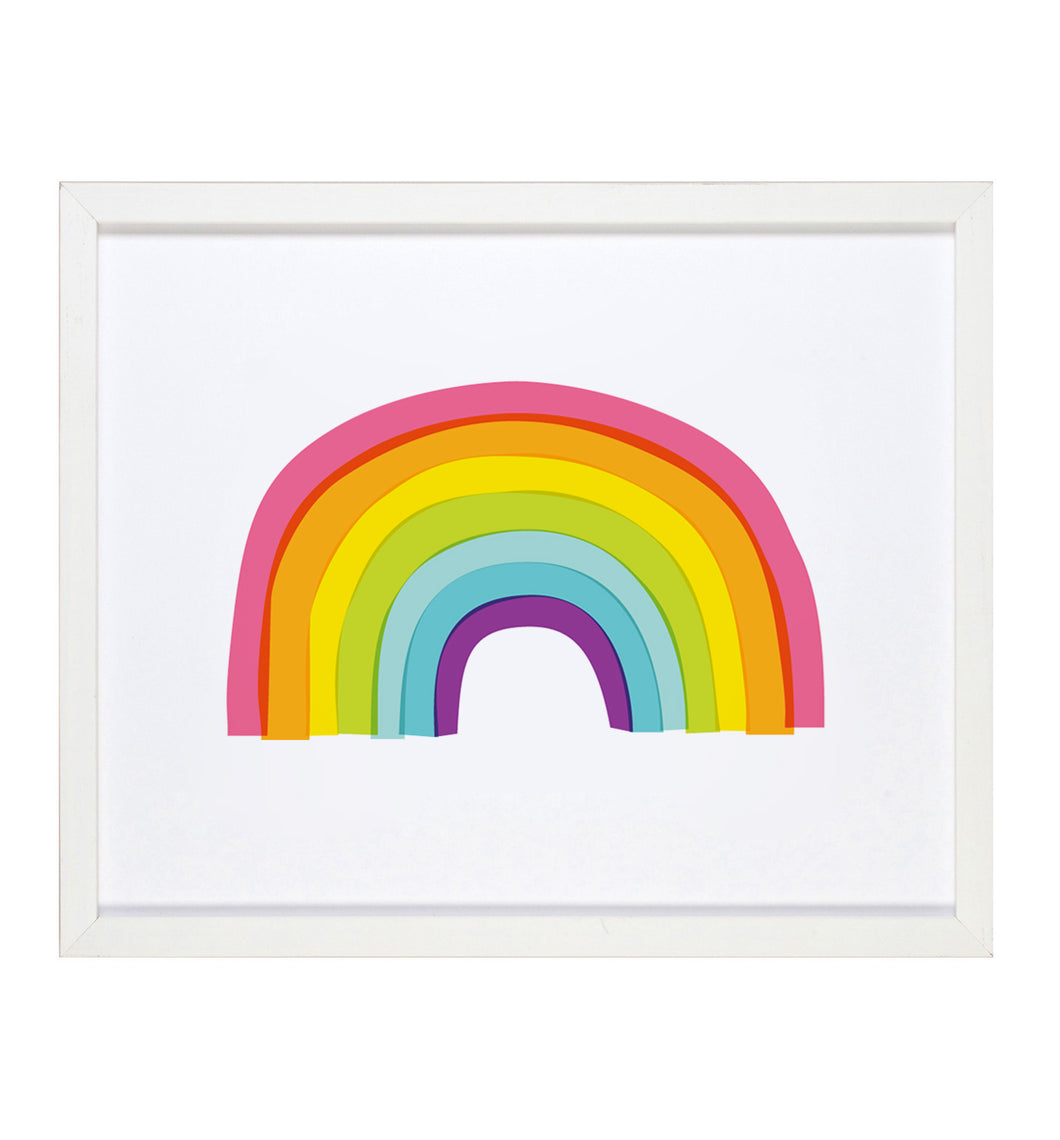 Graphic Anthology - Rainbow 8x10 Art Print