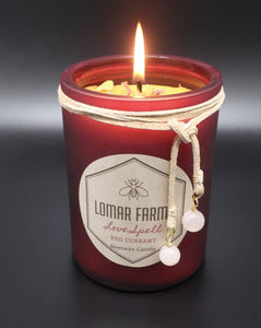 Lomar Farms Candle & Home - 12 oz Love Spell Beeswax Candle