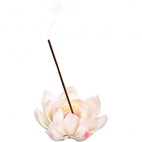 White Lotus | Ceramic Incense Burner