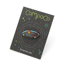 Load image into Gallery viewer, Compoco - Solar System Space Pool Enamel Pin