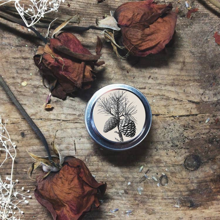 Winter Solstice  Soy Wax Candle Travel Tin