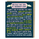 Wishes For You Mother's Day Card