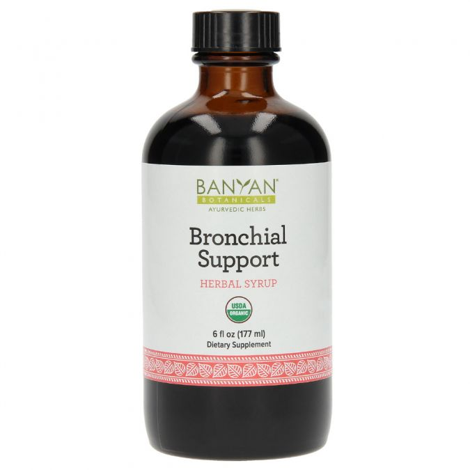 Bronchial Support - Herbal Syrup 6 fl oz