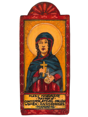 Mary Magdalene - The Penitent' Feast Day, July 22 Patroness of Hairdressers, Contemplatives and Fallen Women.