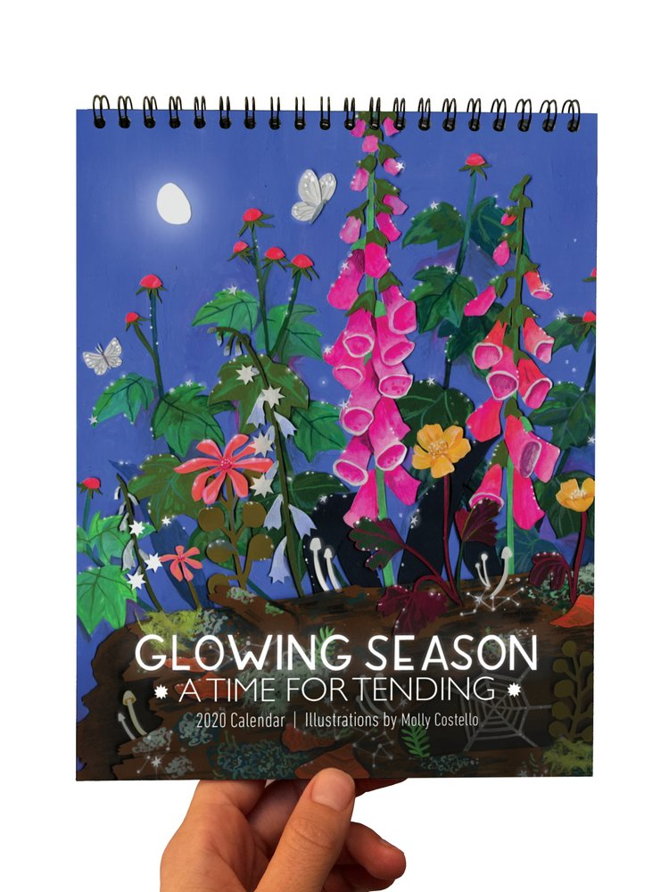 Glowing Season 2020 Calendar