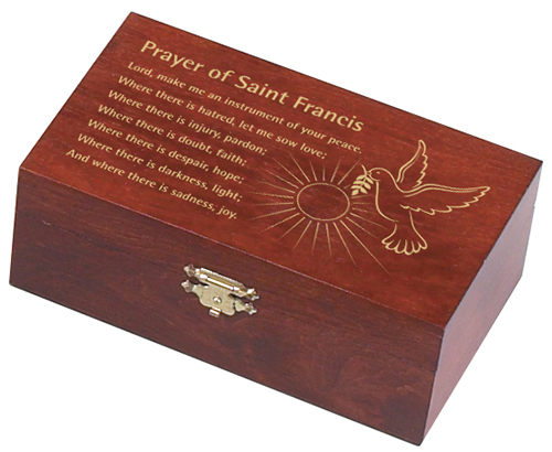 St. Francis Prayer Box