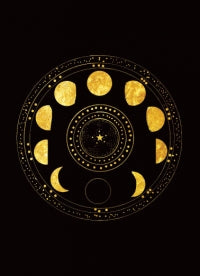 Moon Cycle - Solstice - 12 Cards + Envelopes