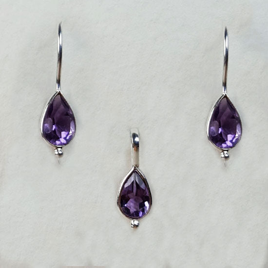 Amethyst Birthstone Set February