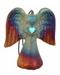 Raku Spirit Angel Ornament