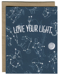 Love Your Light - Greeting Card