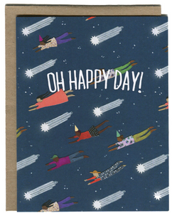 Oh Happy Day - Greeting Card