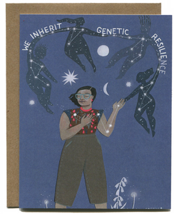 Genetic Resilience - Greeting Card