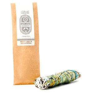 White Sage and Eucalyptus Smudge Stick