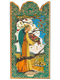 Angel of Abundance - Wooden Pocket Plaque