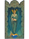 Archangel Uriel - Wooden Pocket Plaque
