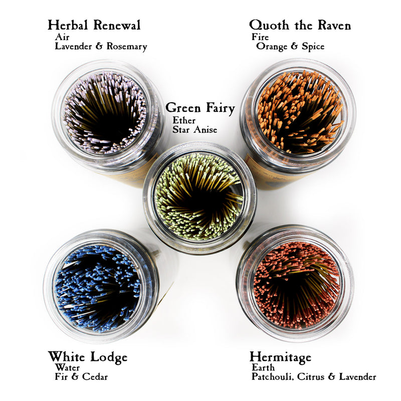 Bulk Incense in Jar - Single Scent by Sea Witch Botanicals