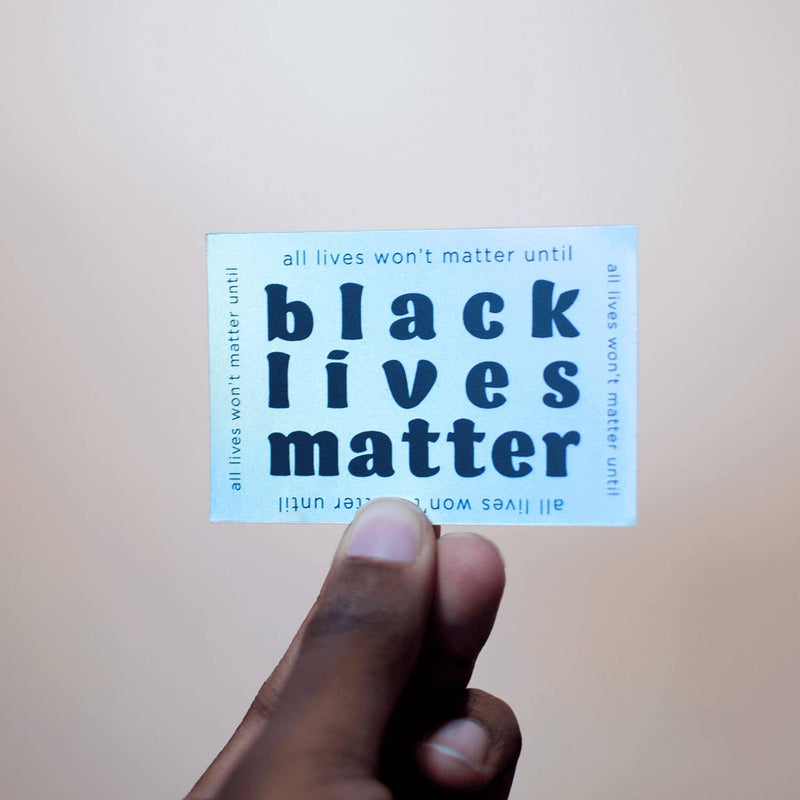 Black Lives Matter | Holographic Sticker