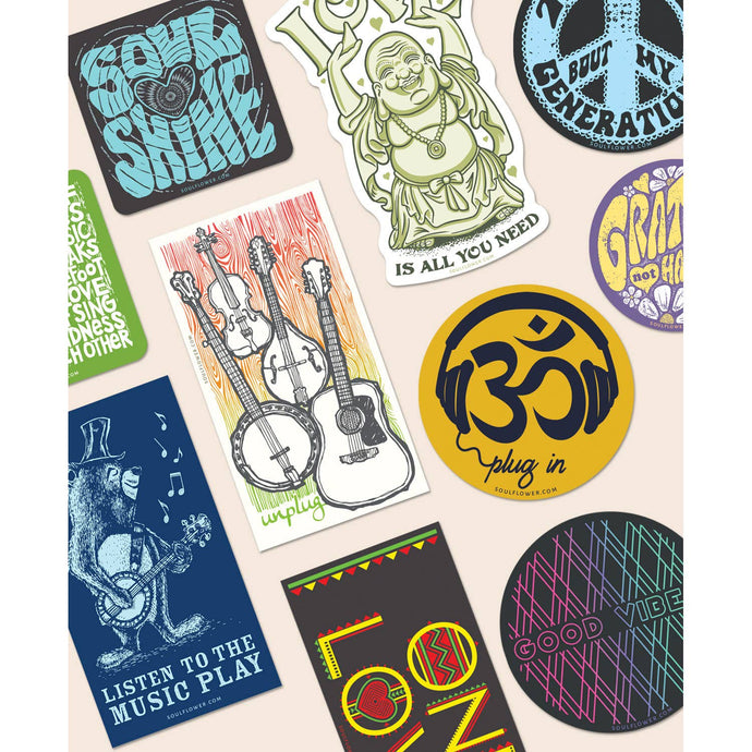 Music Stickers - Various Styles