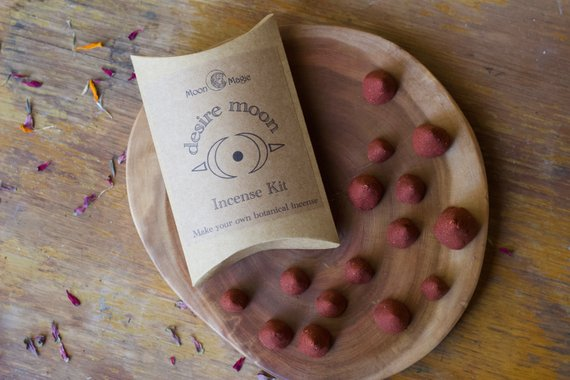 Desire Incense Kit, make your own incense cones! from Moon Magic