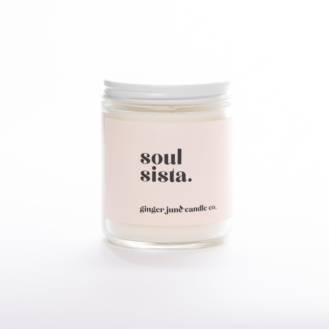 Ginger June Candle Co. - Soul Sista • 16 oz Soy Candle