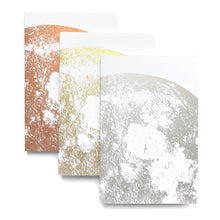 Load image into Gallery viewer, Little Lark - Moon Journals / Metallic on White