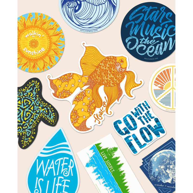 Beach Vibes Stickers | Assorted