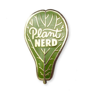 Wit & Whistle - Plant Nerd Enamel Pin