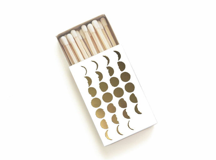 Studio Portmanteau - 28 Phases of the Moon Matchbox - White Box