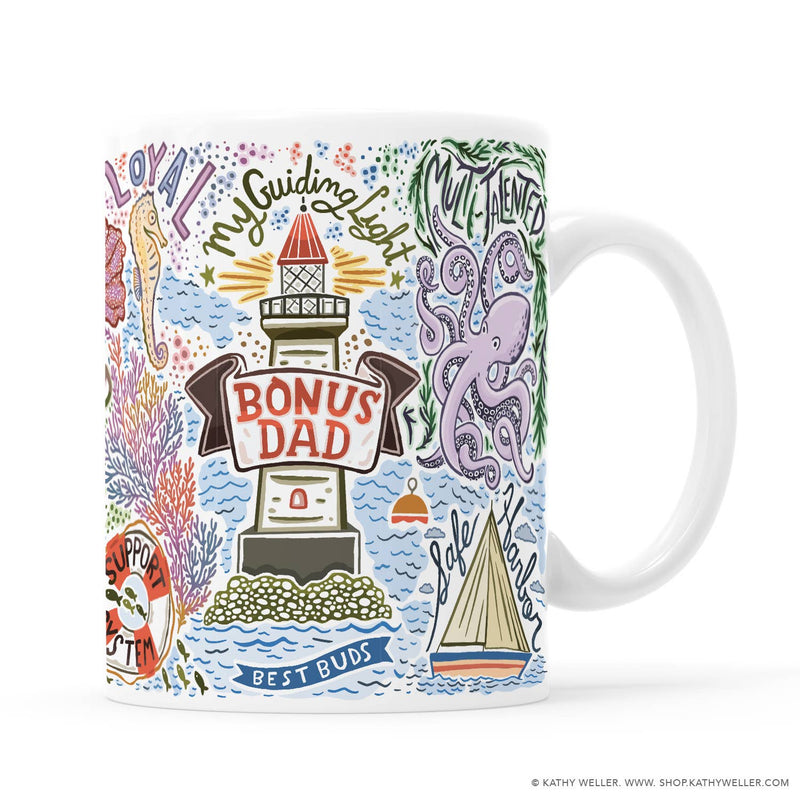 Kathy Weller Art+Ideas - Bonus Dad Mug