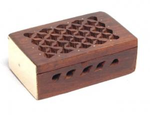 Rosewood Box to hold Resin Incense