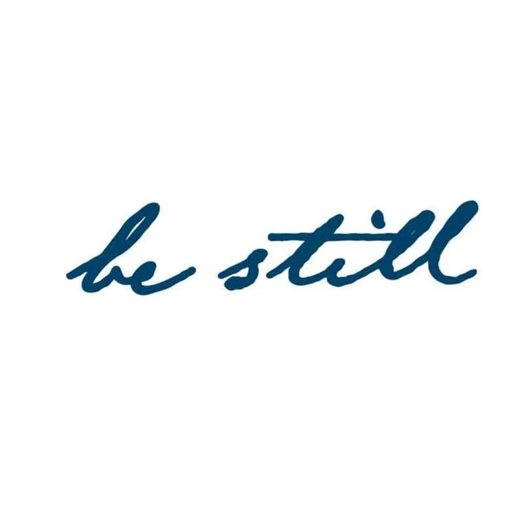 """be still"" Manifestation Tattoo 2-Pack"
