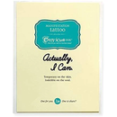 """Actually, I Can"" Manifestation Tattoo 2-Pack"