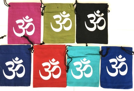 Cotton Pouch - OM (5''x4'')