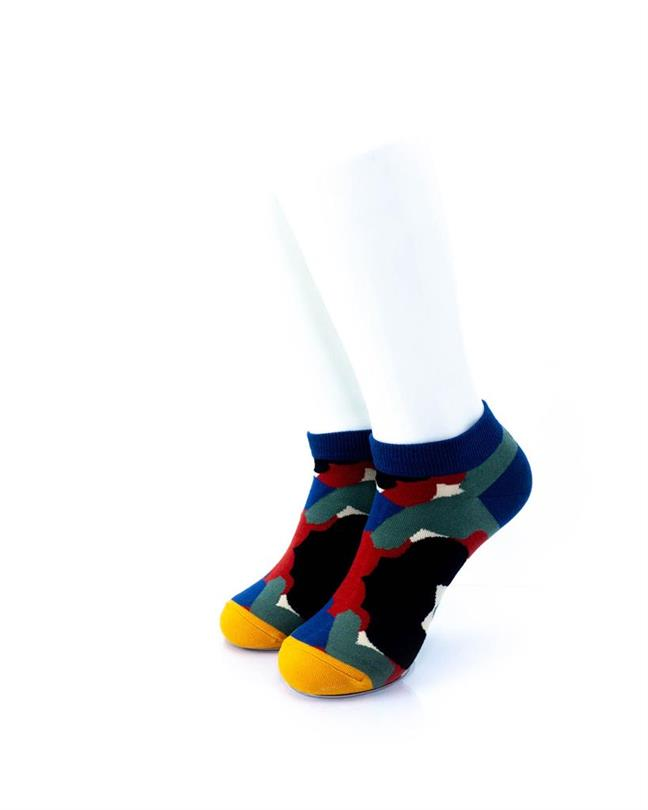 CoolDeSocks Abstract Art Socks front view image