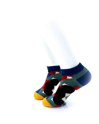 CoolDeSocks Abstract Art Socks left view image