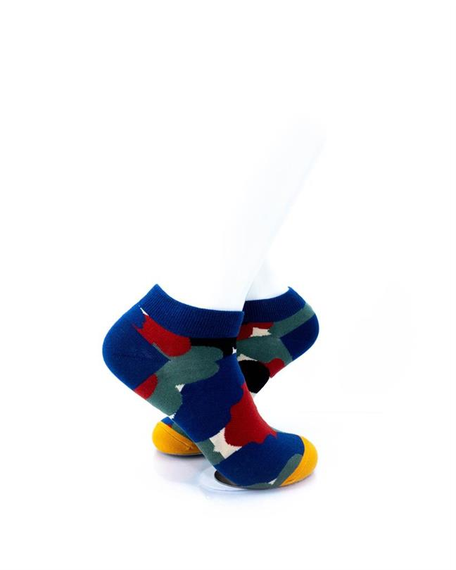 CoolDeSocks Abstract Art Socks right view image
