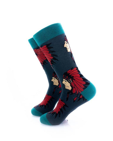 CoolDeSocks Apache Chief Socks left view image