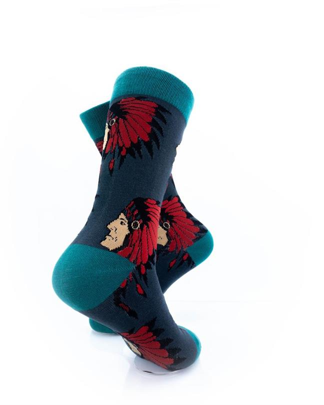 CoolDeSocks Apache Chief Socks right view image