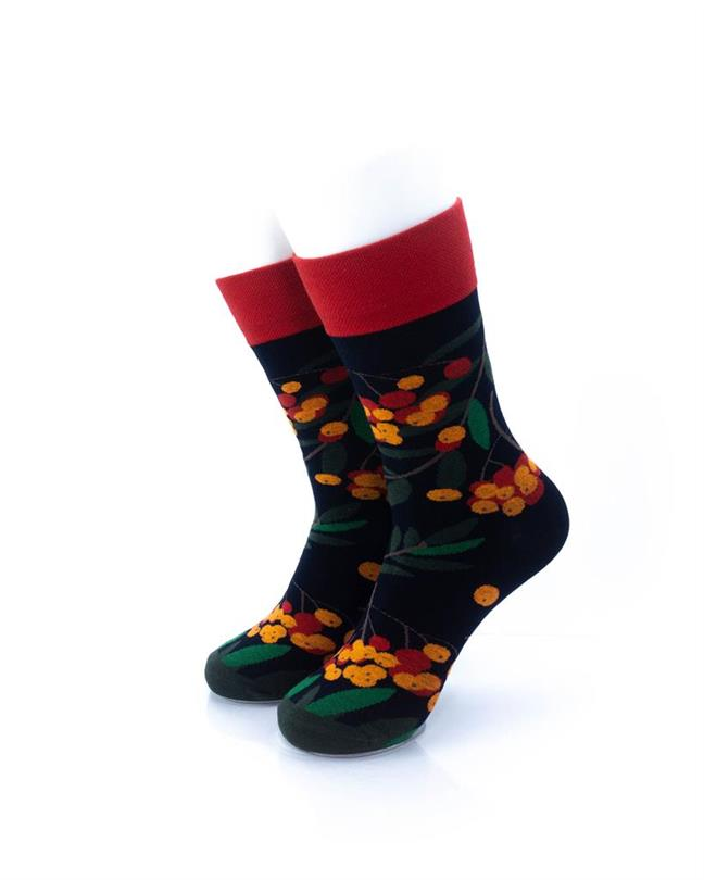 cooldesocks berries crew socks front view