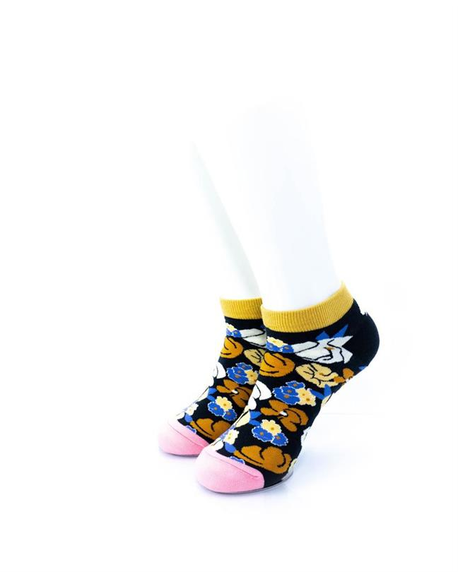 CoolDeSocks Blooming Flowers Socks front view image