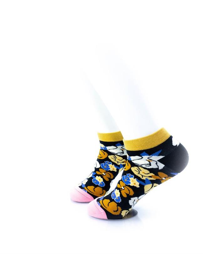 CoolDeSocks Blooming Flowers Socks left view image