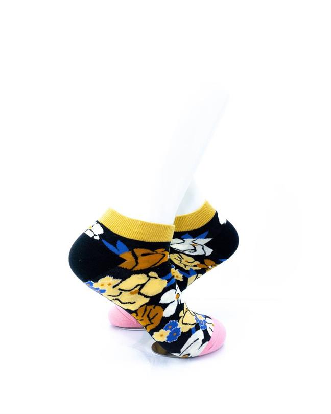CoolDeSocks Blooming Flowers Socks right view image