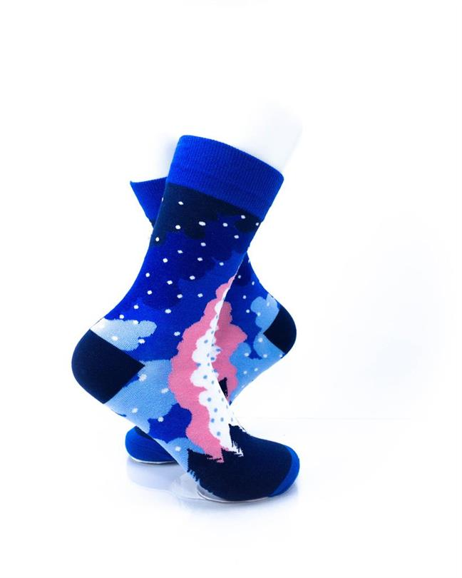 CoolDeSocks Camp Fire Socks right view image