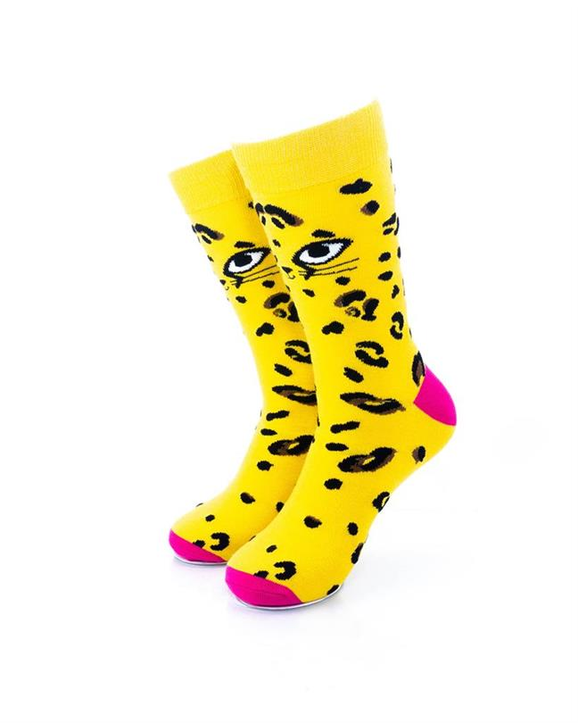 CoolDeSocks Cat Eyes Socks front view image