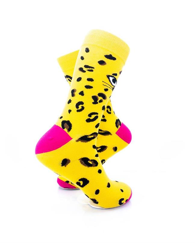 CoolDeSocks Cat Eyes Socks right view image